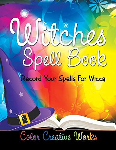 9781683056690: Witches Spell Book: Record Your Spells For Wicca