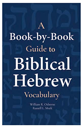 9781683070863: A Book-by-Book Guide to Biblical Hebrew Vocabulary