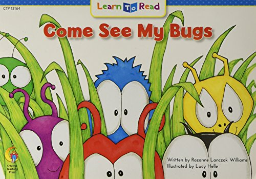 9781683103240: Come See My Bugs (Learn-To-Read)