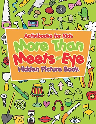 9781683215462: More Than Meets the Eye Hidden Picture Book