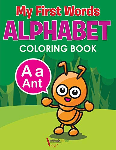 9781683218111: My First Words Alphabet Coloring Book
