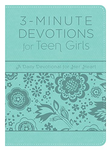 3-Minute Devotions For Teen Girls: A Daily: Barbour Publishing (cor),