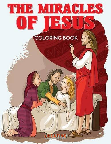 9781683235774: The Miracles of Jesus Coloring Book