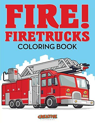 9781683237587: Fire! Firetrucks Coloring Book