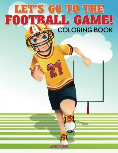 9781683238676: Let's Go to the Football Game! Coloring Book