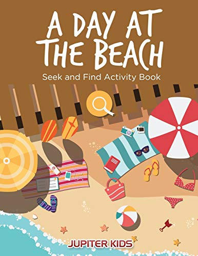 9781683261353: A Day at the Beach: Seek and Find Activity Book