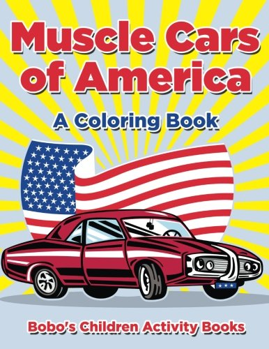 9781683271024: Muscle Cars of America: A Coloring Book