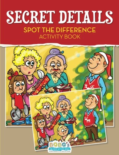 9781683273486: Secret Details: Spot the Difference Activity Book