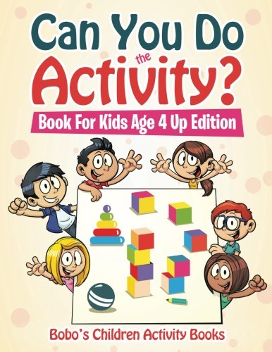 9781683273950: Can You Do the Activity? Book For Kids Age 4 Up Edition