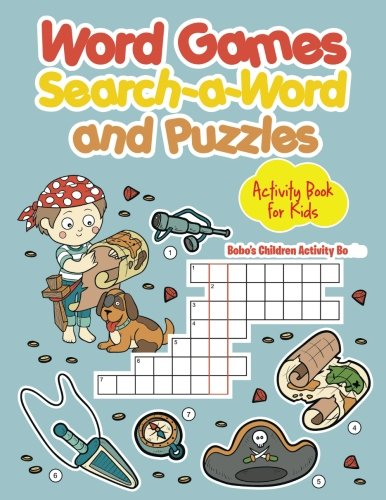 9781683274261: Word Games, Search-a-Word and Puzzles Activity Book for Kids