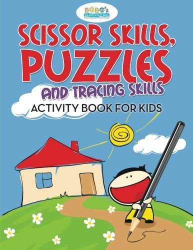 9781683274377: Scissor Skills, Puzzles and Tracing Skills Activity Book for Kids