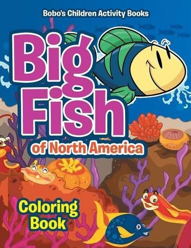 9781683276371: Big Fish of North America Coloring Book