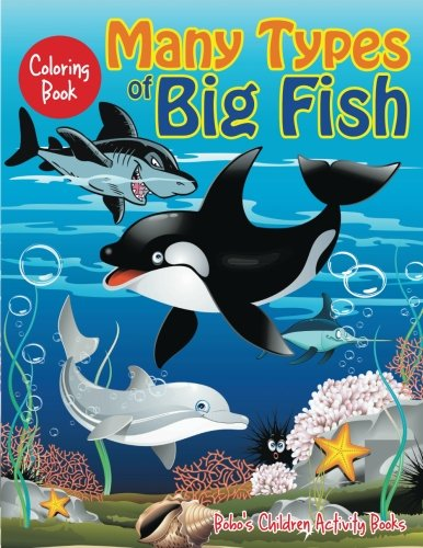 Many types of big fish coloring book by bobo 39 s children for Big fish book