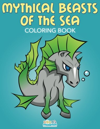 9781683276753: Mythical Beasts of the Sea Coloring Book