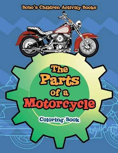 9781683276975: The Parts of a Motorcycle Coloring Book