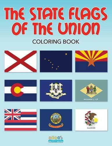 9781683277170: The State Flags of the Union Coloring Book