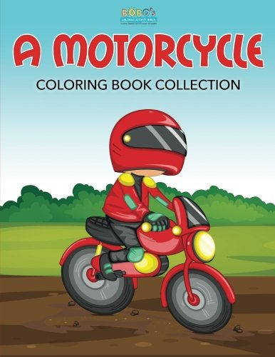 9781683277262: A Motorcycle Coloring Book Collection