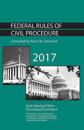 9781683285083: Federal Rules of Civil Procedure and Selected Other Procedural Provisions (Selected Statutes)