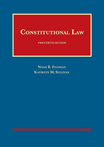 9781683287872: Constitutional Law (University Casebook Series)
