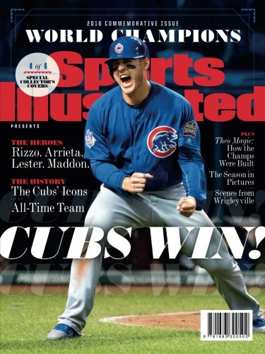 Sports Illustrated Cover Book : Sports illustrated chicago cubs world series