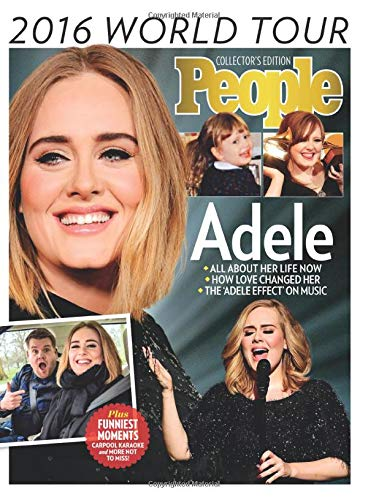9781683304340: PEOPLE Adele: 2016 World Tour