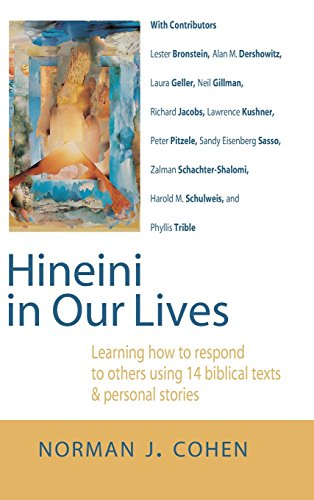 9781683361121: Hineini in Our Lives: Learning How to Respond to Others through 14 Biblical Texts & Personal Stories