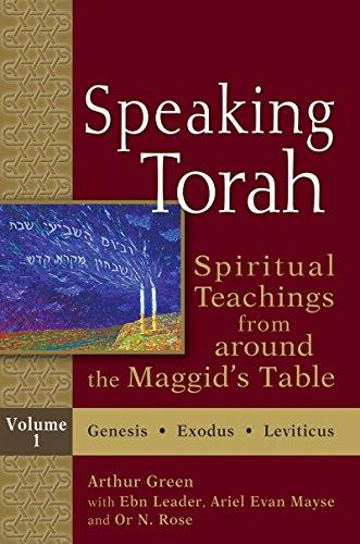 9781683363057: Speaking Torah Vol 1: Spiritual Teachings from around the Maggid's Table