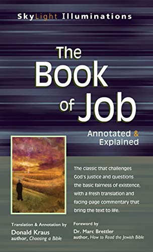 9781683363439: The Book of Job: Annotated & Explained (SkyLight Illuminations)