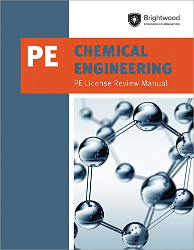 9781683380252: Chemical Engineering: PE License Review Manual