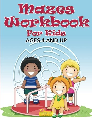 9781683743286: Mazes Workbook For Kids - Ages 4 And Up