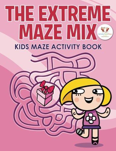 9781683761945: The Extreme Maze Mix: Kids Maze Activity Book