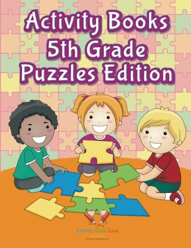 9781683762669: Activity Books 5Th Grade Puzzles Edition