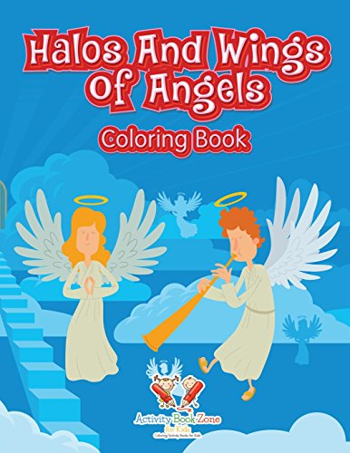 9781683763437: Halos And Wings Of Angels Coloring Book