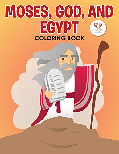 9781683763635: Moses, God and Egypt Coloring Book