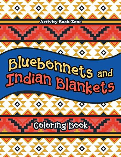 9781683764151: Bluebonnets and Indian Blankets Coloring Book