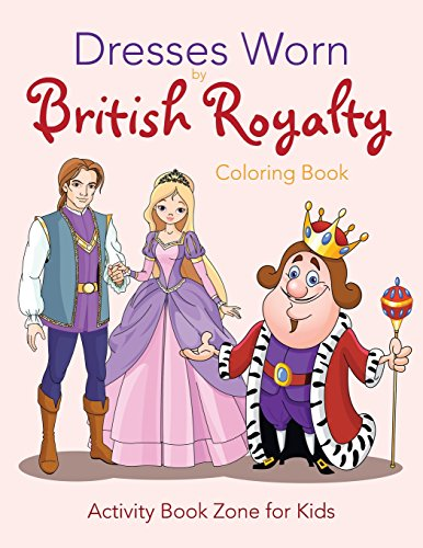 9781683764670: Dresses Worn by British Royalty Coloring Book