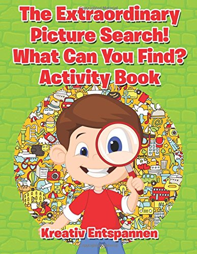 9781683770435: The Extraordinary Picture Search! What Can You Find? Activity Book