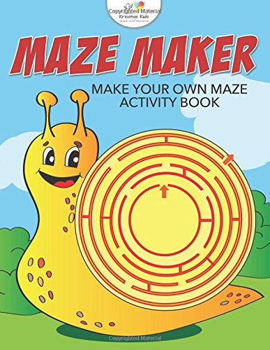 9781683771500: Maze Maker: Make Your Own Maze Activity Book