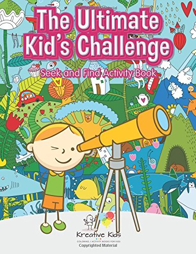 9781683772002: The Ultimate Kid's Challenge: Seek and Find Activity Book