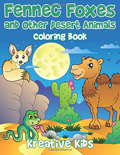 9781683774655: Fennec Foxes and Other Desert Animals Coloring Book
