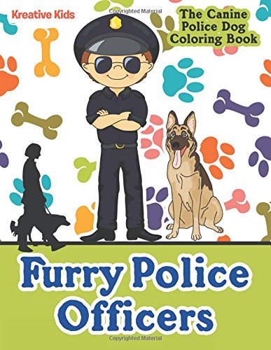 9781683774839: Furry Police Officers: The Canine Police Dog Coloring Book