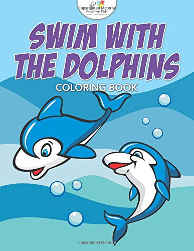 9781683775133: Swim with the Dolphins Coloring Book