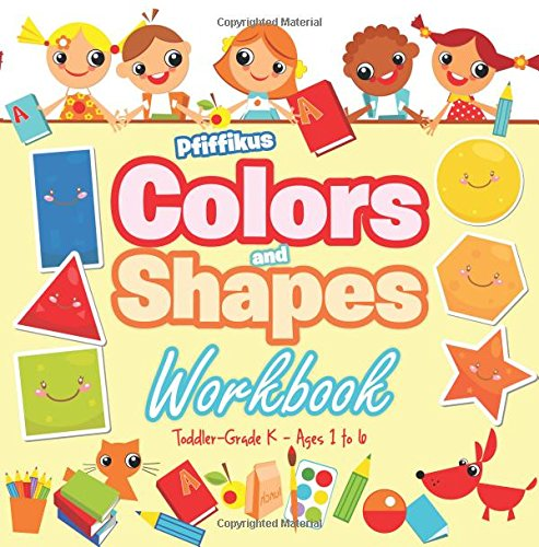 9781683776321: Colors and Shapes Workbook   Toddler–Grade K - Ages 1 to 6