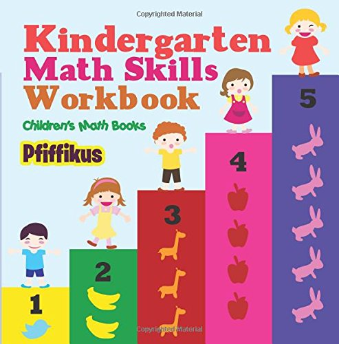 Kindergarten Math Skills Workbook | Children's Math Books: Pfiffikus