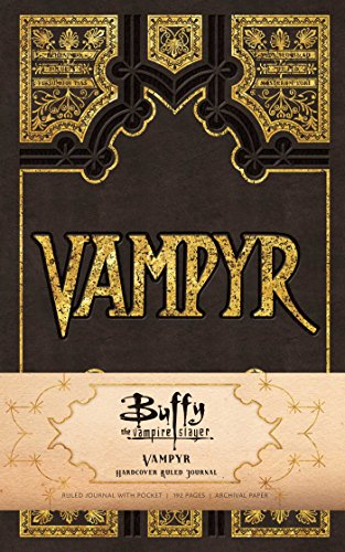 Buffy The Vampire Slayer Vampyr Ruled Journal