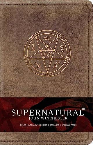 9781683830740: Supernatural John Winchester's Ruled Journal