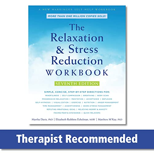 9781684033348: The Relaxation and Stress Reduction Workbook