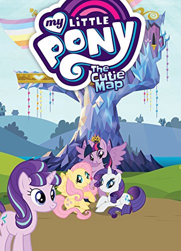 My Little Pony: The Cutie Map (Paperback)