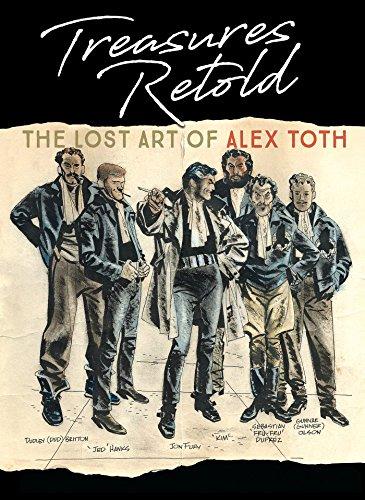 9781684054121: Treasures Retold The Lost Art of Alex Toth