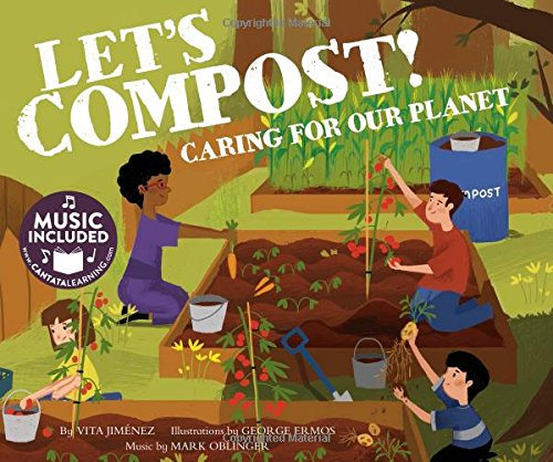 Let's Compost!: Caring for our Planet (Me,: Jimenez, Vita